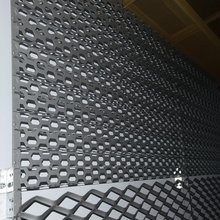 High quality galvanized steel expanded metal mesh