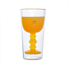 Fancy 8oz Double Wall Juice Glass