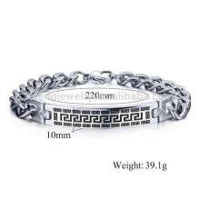 Bracelets de bracelet vintage en métal pour les hommes, bijoux de bracelet de jésus christ