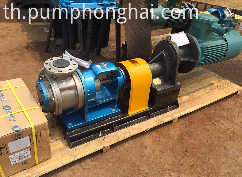 stainless steel high viscosity pump