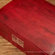 Papel decorativo de grano de madera para caja