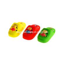 Chinelos de plástico bonitos de vinil brinquedo
