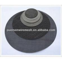 Pano de aço preto para filtro de borracha