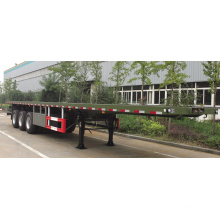 Three-Axle 40t Flatbed Semi-Trailer