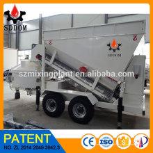 Rebocada por caminhão Máquina de mistura de concreto