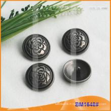 Bouton en alliage de zinc et boutons en métal et bouton de couture métallique BM1648