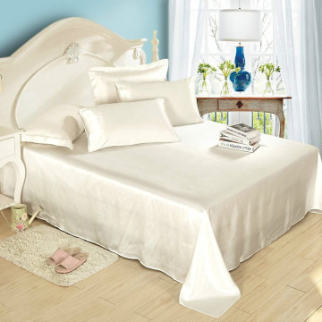 Ensemble de draps en soie 4pc Deep Pocket Silky