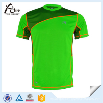 Mens Wholesale Fashion 100% Polyester T-Shirt Fitness Wear