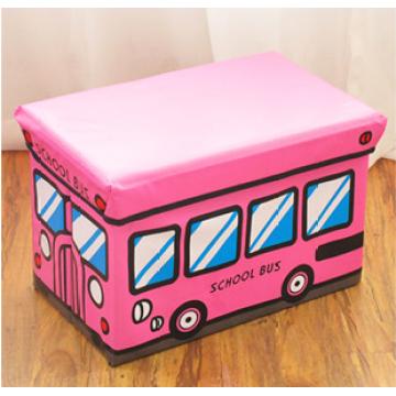 PVC-Kids Lagerung Hocker Pink