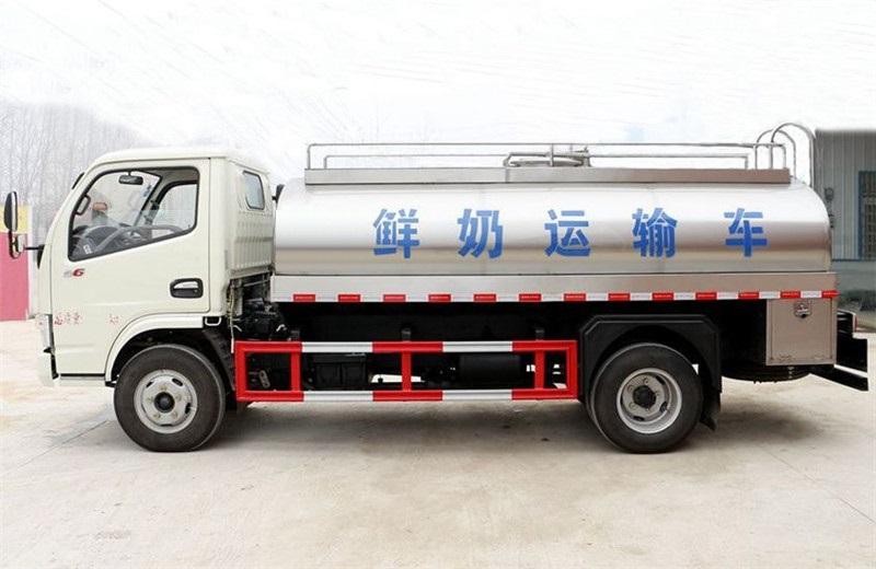 Milk Tank Truck 2