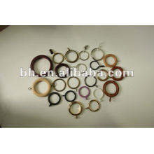 hot selling plastic and metal curtain ring colorful curtain eyelet