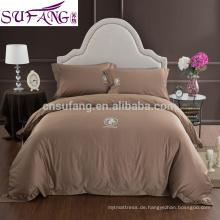 2017 Alibaba Lieferant ägyptische Baumwolle Bett Hause lange Staple Baumwollgewebe Bettwäsche