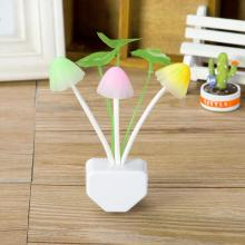 LED Mushroom Light Romantic Nightlight colorido