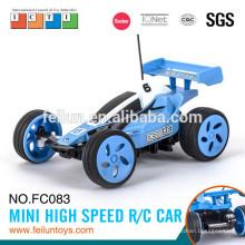 Carro de corrida 4CH super controle remoto carro brinquedo pequeno de alta velocidade