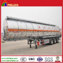Semi Aluminium Tank Truck Trailer for Water/Milk Transport