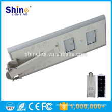 Factory Wholesale 50W All In One 50w solar auto-sensing outdoor led street light