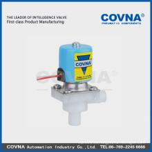 Electroválvula de plástico de dos vías de acción directa para sistema RO