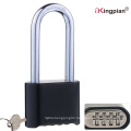 50mm Long Shackle Digital Resettable Combination Lock