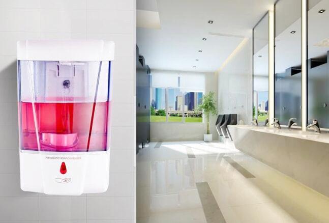 Auto soap dispenser
