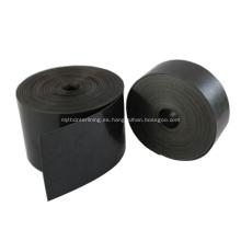 Cinta de envoltura para revestimiento de tubería encogible aplicada en caliente