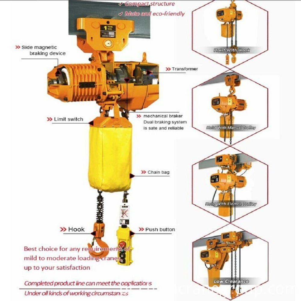 chain hoist-Product Fittings