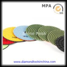 Stone Diamond Polishing Pads for Granite Marble Floor