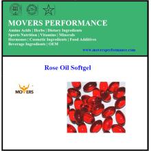 Hochwertige reine Extrakte Rosenöl Softgel