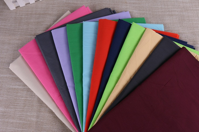 Cotton Plain Dyed Fabric