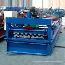 ХП-750 Ханчжоу горячей продажи ручной сварки-стальная крыша / стена цвет стальной крен листа плитки формируя машину делая