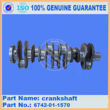 حفارة جزء PC300-7 Crankshaft 6742-01-1570