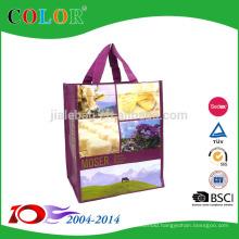 CMYK rpet Screen Printing PP Non Woven Bag shopping bag