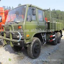 camions 6 * 6 militaires à tête plate de dongfeng à vendre EQ2082 avec tendance et treuil