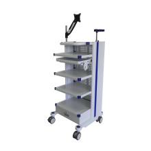 Medical Device Endoscope Cart Hospital Mobile Endoscopy Cart Instrument Trolley