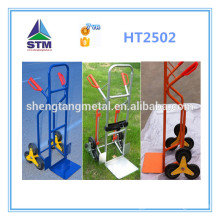 six wheel hand trolley for climbing stairs