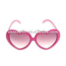 2013 gafas de sol en forma de corazón de la Navidad de la manera encantadora