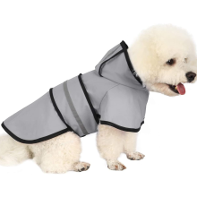 Impermeable para perros con capucha