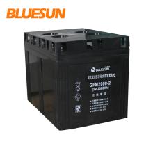 batería solar del gel 12v 200ah batería solar jiuhua batería