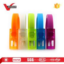 New Design colorful plastic silicone belts