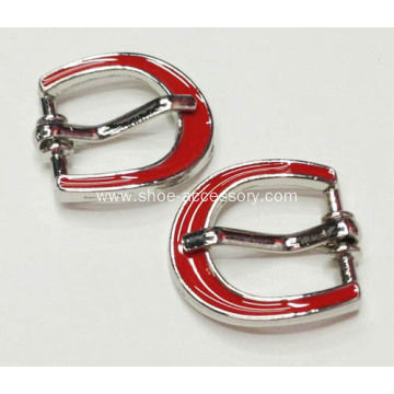 Fashion D-shapes Pin Buckle, Metal Pin Buckle