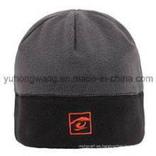Sombrero / casquillo polar hechos punto calientes del paño grueso y suave del invierno
