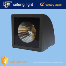 Waterproof ip65 30w 50w led wall light with clear tempered glass