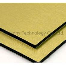 Mirror Brushed Wood Stone Texture Color ACP Acm Aluminum Composite Panel for Building Materials out Wall Cladding
