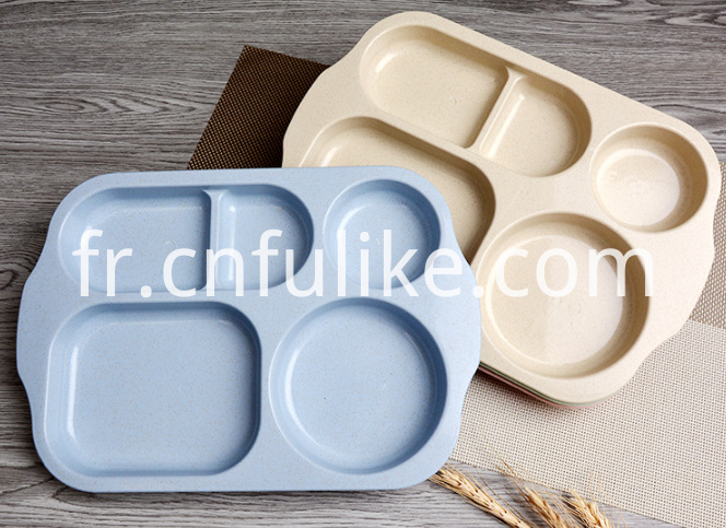 Wheat Straw Divided Plates