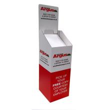Soporte de cartón pop, pantalla de papel Dumpbin