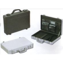 "Roadpro 17.5"" Briefcase/Attache Combo Locks Laptop Hardside Aluminum Case"