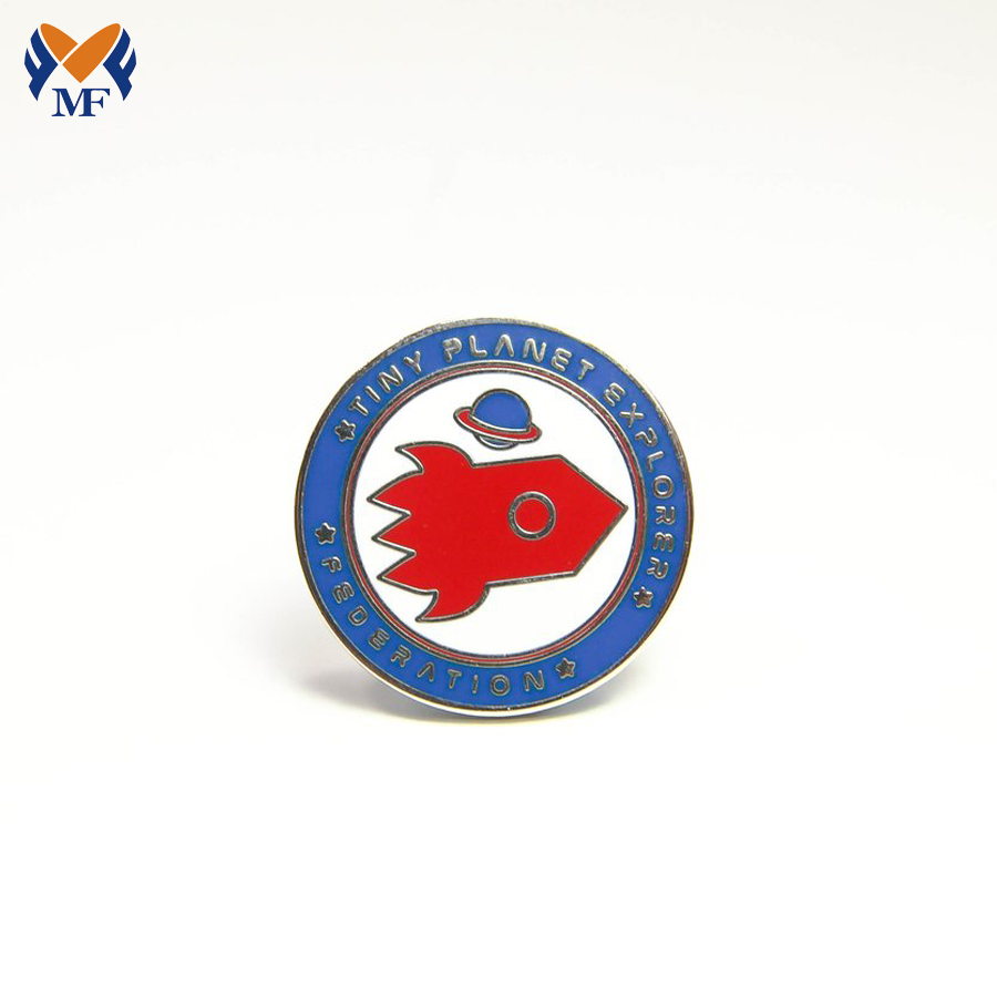 Round Pin Badge