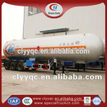3 axle 60m3 lpg semi trailer tanker for sale