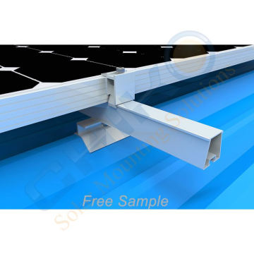 Chinese factory direct sell solar trapezoidal metal roof clamp