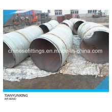 API 5L X60 Carbon Steel Pipe Fitings Bend with 3lpe