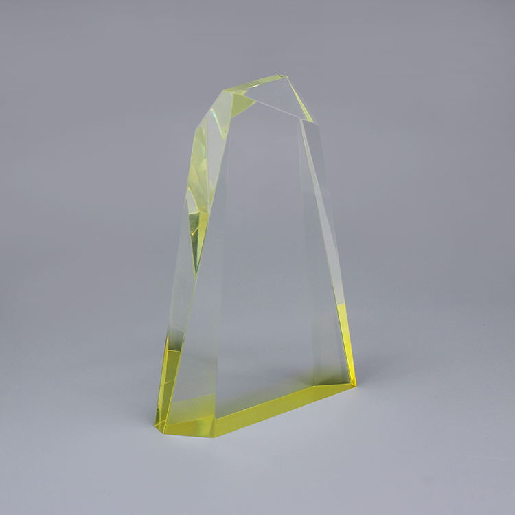 A 1t0123 Custom Transparent Unique Crystal Awards